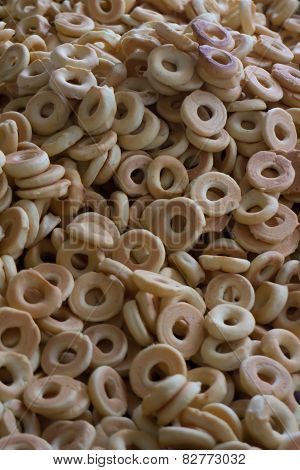 Typical Handmade Rosquillas From Somoto, Nicaragua
