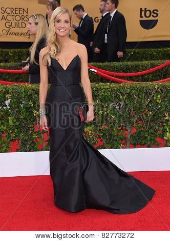 LOS ANGELES - JAN 25:  Joanne Froggatt arrives to the 21st Annual Screen Actors Guild Awards  on January 25, 2015 in Los Angeles, CA