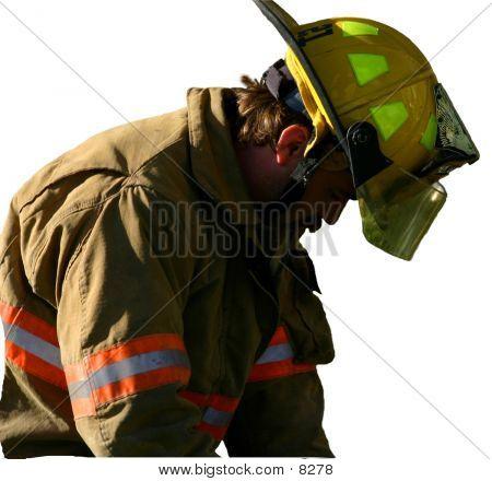 Firefighters Sadness