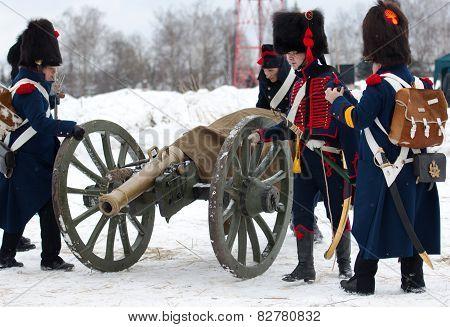 Russian Cannon Squad