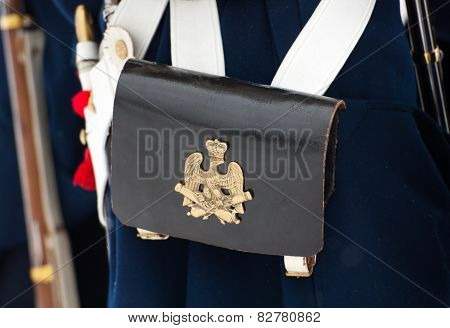 Musketeers Bag With Coat Of Arms