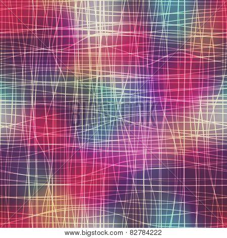 Lines pattern on blur background.