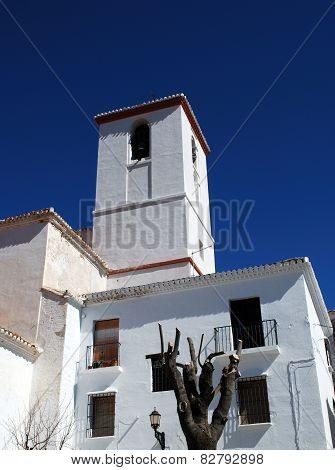 Spanish church, Capileira.