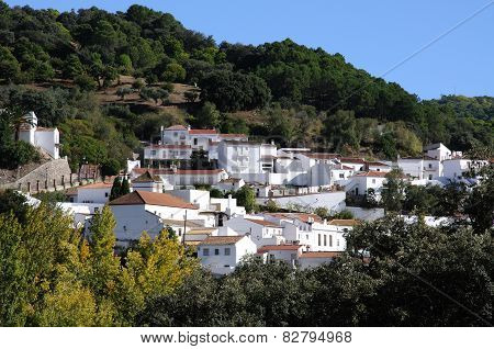 White village, Juzcar.