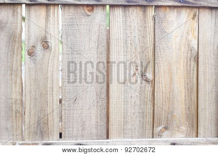 Close up Old wooden fence