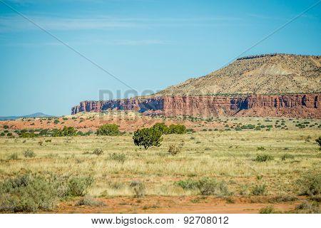 Traveling Through New Mexico State Near Albuquerque