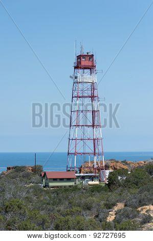 Tower Overlooking Ocean