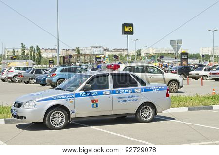 Russian Patrol Police Car