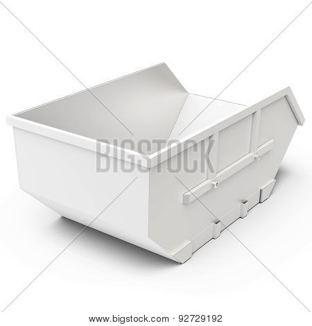 3D Empty Waste Container