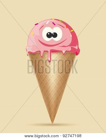Ice Cream Character Set 1 Cs5