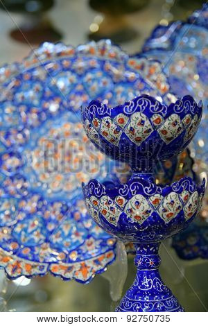 Mina, Handicraft made in Esfahan, Naqsh-e Jahan Square poster
