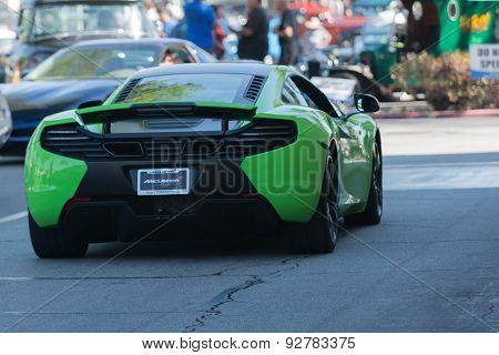 Mclaren Mp4 Car On Display