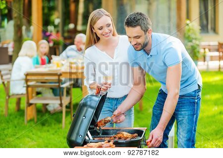 Family Barbeque.