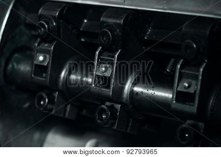 Detail Crankshaft As A Part Of The Mechanism