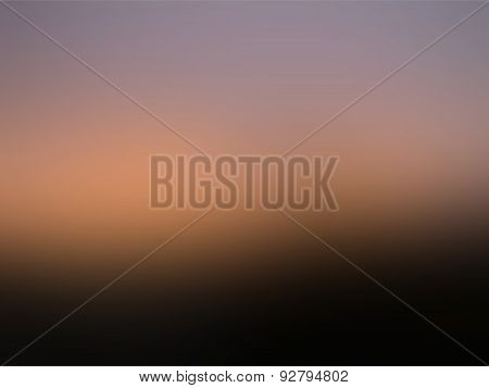 Blurred Mesh Gradient Background Black, Orange And Violet