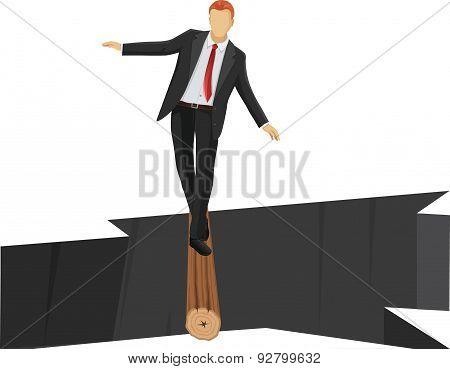 Risk Management or Business man