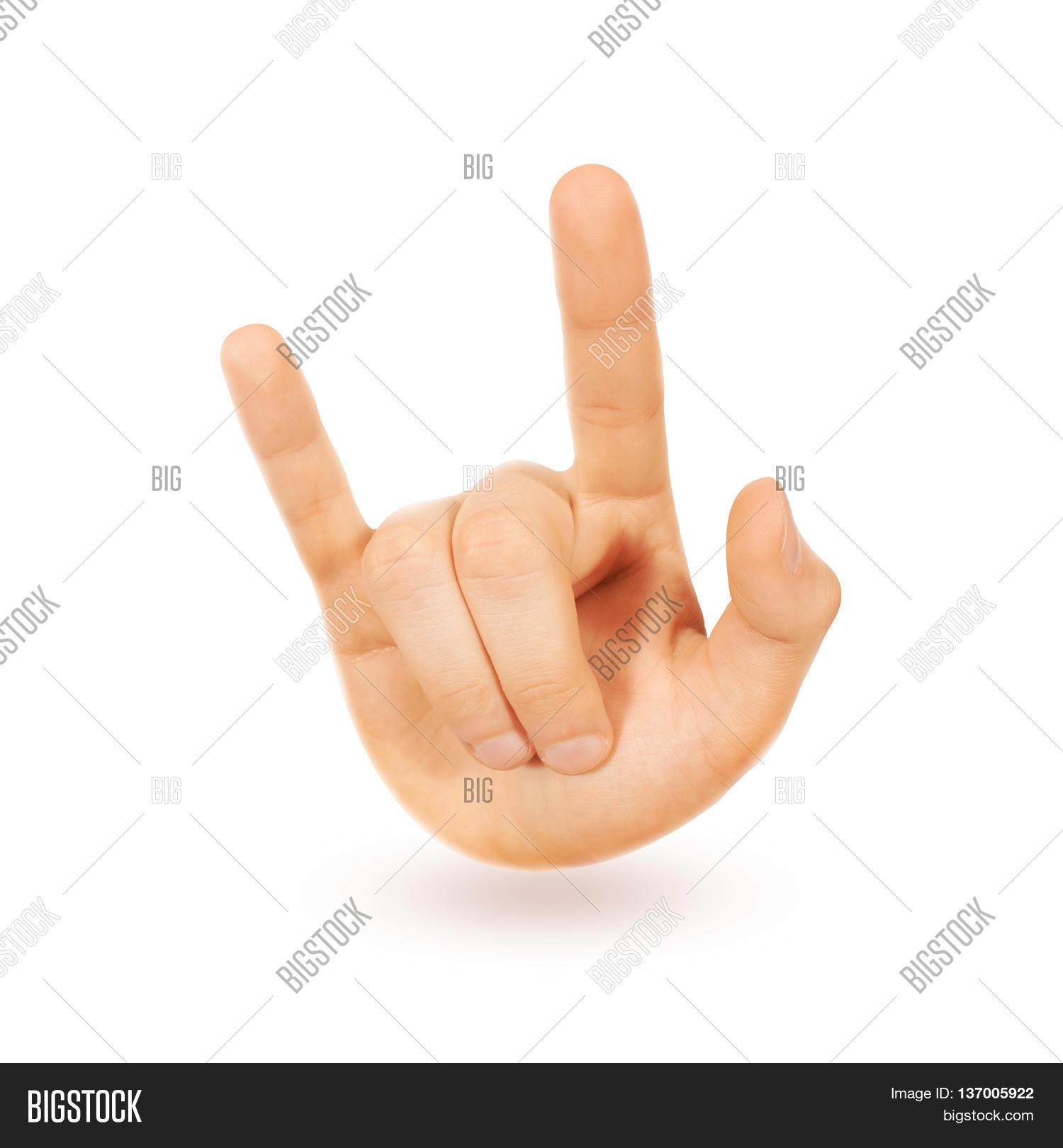 Rock n roll heavy metal sign hand image photo bigstock rock n roll heavy metal sign hand isolated music love symbol icon buycottarizona