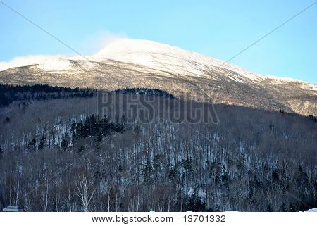 Snow Capped Mountains in New England