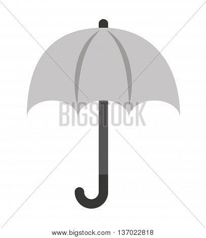 umbrella  isolated icon design, vector illustration  graphic
