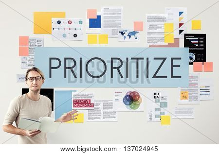 Prioritize Emphasize Efficiency Important Task Concept