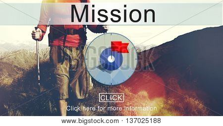 Goals Aim Purpose Mission Target Concept