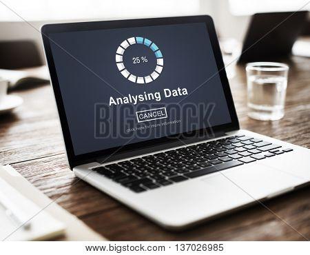 Analyzing Data Loading Progress Bar Concept