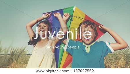Juvenile Kids Youth Children Young Concept