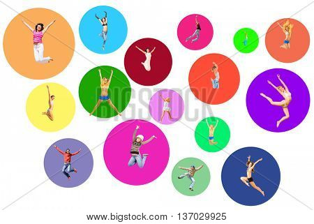 Team Achievement Colorful Idea