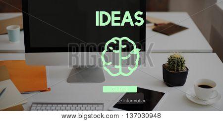 Creative Thinking Big Ideas Refresh Concept