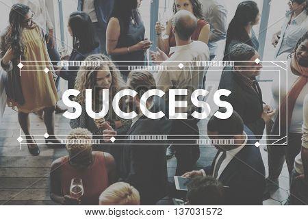 Success Achievement Mission Development Concept