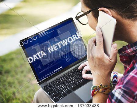 Computer Network Internet Connection Digital Concept