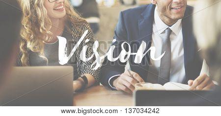 Vision Direction Future Ideas Motivation Target Concept