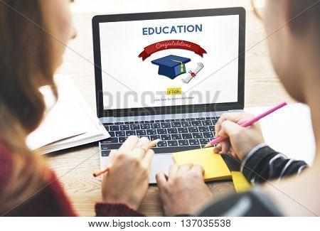 Education Achievement College Academic Concept