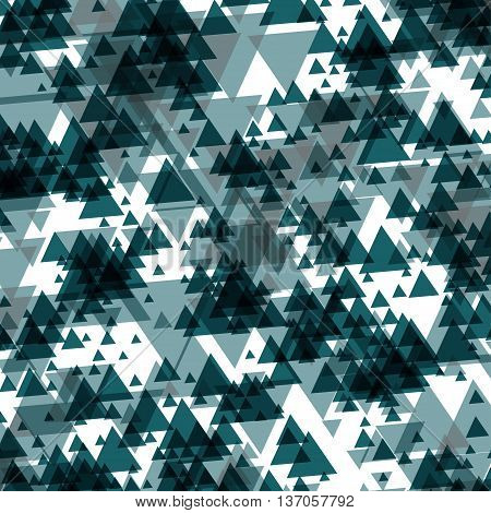 Vector triangle abstract halftone colour background. EPS 10