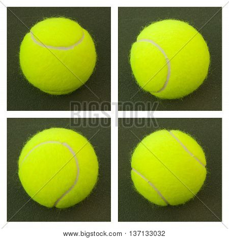 Yellow Tennis Balls - 12