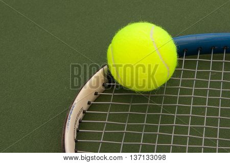 Yellow Tennis Balls - 4