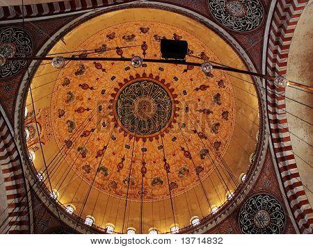 Suleimanie mosque  interior