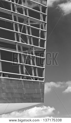 Architectural Modern Building the BOK Center in Tulsa Oklahoma