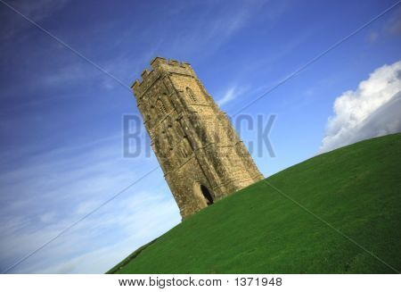 Quirky Angle Of Glastonbury Tor