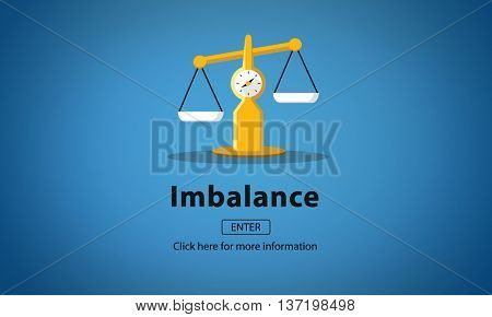 Imbalance Choice Comparison Complexity Risk Concept