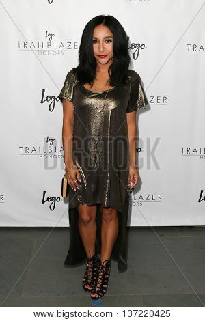 NEW YORK-JUN 25: Nicole Polizzi attends Logo TV's