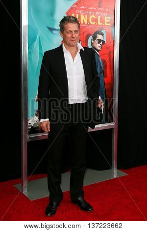 NEW YORK-AUG 10: Actor Hugh Grant attends