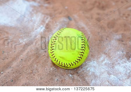 Softball is a variant of baseball played with a larger ball on a smaller field. It was invented in 1887 in Chicago as an indoor game. It was at various times called indoor baseball