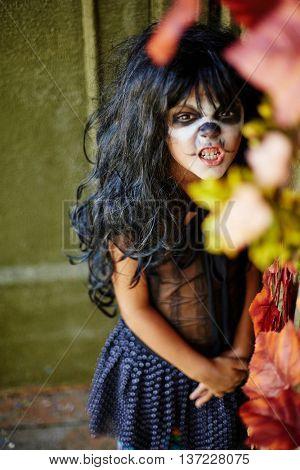 Frightening child