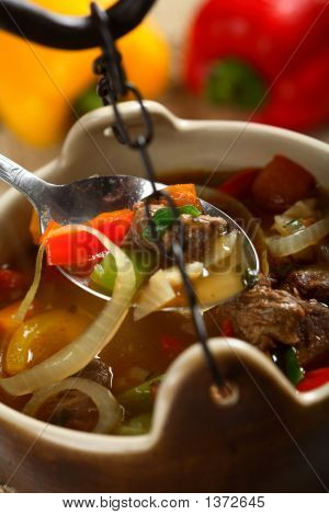 Beef In The Soup