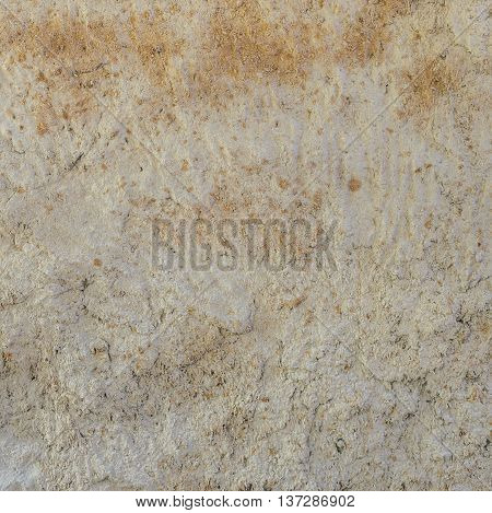 Natural wall texture of cob house for background. It is a natural building material made from subsoil water and straw fibrous organic material.