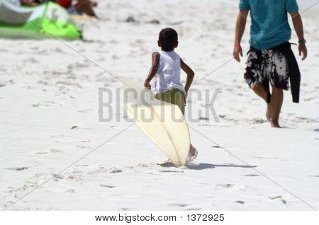 Broken Surfboard