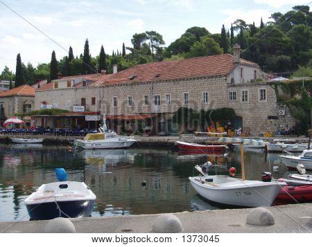 Inlet Cavtat Croatia