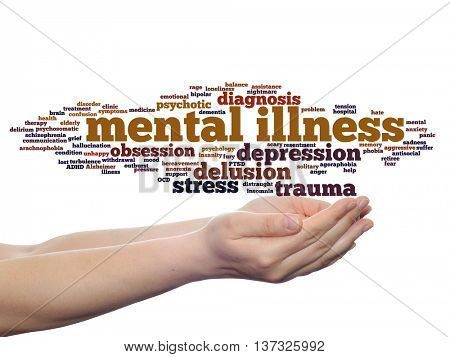 mental illnesses under treated A new study has found that around the world, mental illnesses are under-treated compared to their physical disorder counterparts, even though respondents more often attributed their disability to a mental disorder.