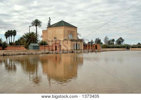 Menara Gardens In Marrakech (Morocco)